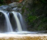 Waterfall  at La Rivière des Fermes.