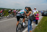 Giro d'Italia - May 22, 2013 (Matteo Trentin - sustenance break)