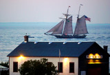 Tall Ship Sailing to Collingwood Harbour from Wasaga Beach - Aug. 16,2013