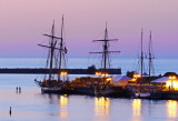 Three Tall Ships in Collingwood Harbour - Aug. 17, 2013