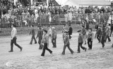 Simcoe Boy Scouts on parade at the Norfolk County Fair and Horse Show