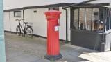 A Victorian letter box.