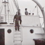 Mick in galley rig. 1960/61