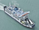 The Isle of Wight ferry.