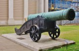 1790 5.2 ton bronze cannon taken from the Turks in 1807