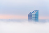 Lyon Awakening in the Fog