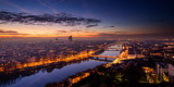 Lyon and Rhône River