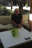A nice half of Peroni Lager in a trendy bar Cape Town South Africa