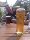 My mate Brent in the Swan Inn