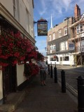 The Pubs on Portsmouth Point, Old Portsmouth, Hampshire UK
