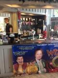 The Exmouth Pavilion bar.