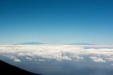 2051 The Big Island's volcanoes from Haleakala
