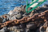 2694 Old chain at Lahaina Harbor
