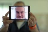 Me through an iPad mini