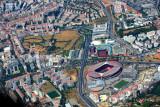 Benfica Stadium and Columbus Center