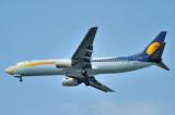 Jet Konnect Boeing 737/800, VT-JNJ