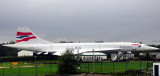 Concorde G-BOAC Final Resting Place
