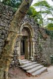 Romanic Christian Church Inside Muslim Castle