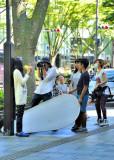 Fashion Shoot on Fashion Avenue...