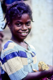 The Merry African Girl