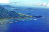 Seychelles International Airport End of Runway