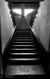 Traditional Stairs, B&W