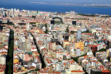 Lisbon's New Avenues, with Monumental Fountain in Background