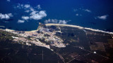Nazare Aerial From 20.000Ft