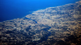 Porto At 35,000ft., No Clouds Or Mist! Rare!!!
