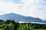 Mist Lifting Over the Borneo Mountains