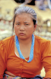 Tibetan Saleswoman