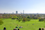 Park With A London View