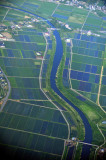 Japan Rice Fields and River