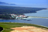 Singapore Tekong Island And New Reclaimed Land