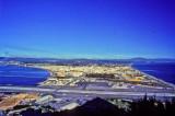 Gibraltar Airport, La Linea Behind