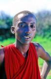Happy Masai Teen