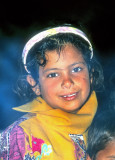 The Warm Smile of The Bedouin Girl