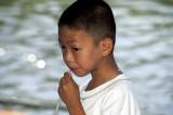 Boy Chewing Straw