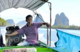 Boatman In Scenery