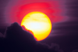 Sun Set In Lisbon