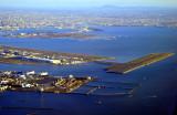Haneda Airport w/ New Bridge Runway