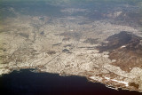 Athens From 35,000 Ft