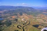 Meandered Anatolia River