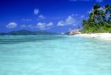 Anse Source D'Argent, Praslin Island Behind