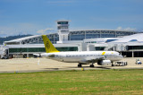 RBA A320, V8-RBT, In Front Of New Airport Terminal