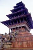 Bricks And Wood Temple
