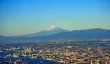 Biggest City in the World, Mountains, Fuji san Behind