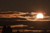 Éclipse solaire partielle / Partial solar eclipse