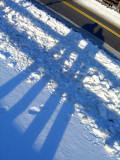 Farm Snow Shadows