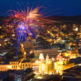 Guanajuato Fireworks